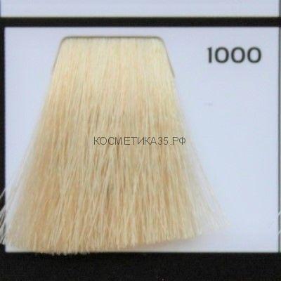 Крем краска для волос 1000 Спец Блонд натуральный 100 мл.  Galacticos Professional Metropolis Color