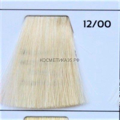 Крем краска для волос 12/00 Супер-Блонд натуральный 100 мл.  Galacticos Professional Metropolis Color