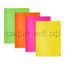 Конверт А4 плотный ErichKrause Glossy Neon полупрозрачный 50159