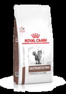 Royal Canin GASTRO INTESTINAL MODERATE CALORIE GIM35 - Диета для кошек при нарушении пищеварения с умеренным содержанием энергии (2 кг)