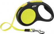 FLEXI Рулетка Neon New Classic S (лента 5 м, до 15 кг)