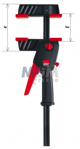 Струбцина для работы одной рукой DuoKlamp DUO 450/85