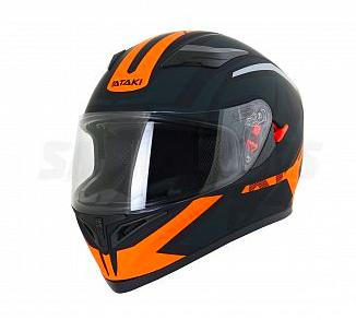 Шлем Ataki JK316 Route черный/оранжевый