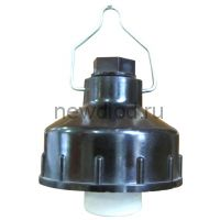 Светильник без стекла НСП 03-60 корпус карболит ГУ