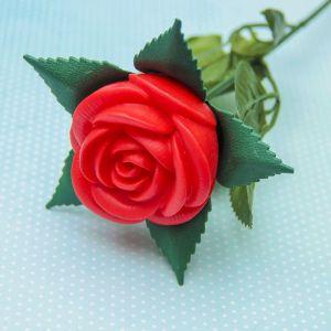 """Сувенир """"Роза"""" LEDх1 11,5х11,5х42 см   3629216"""