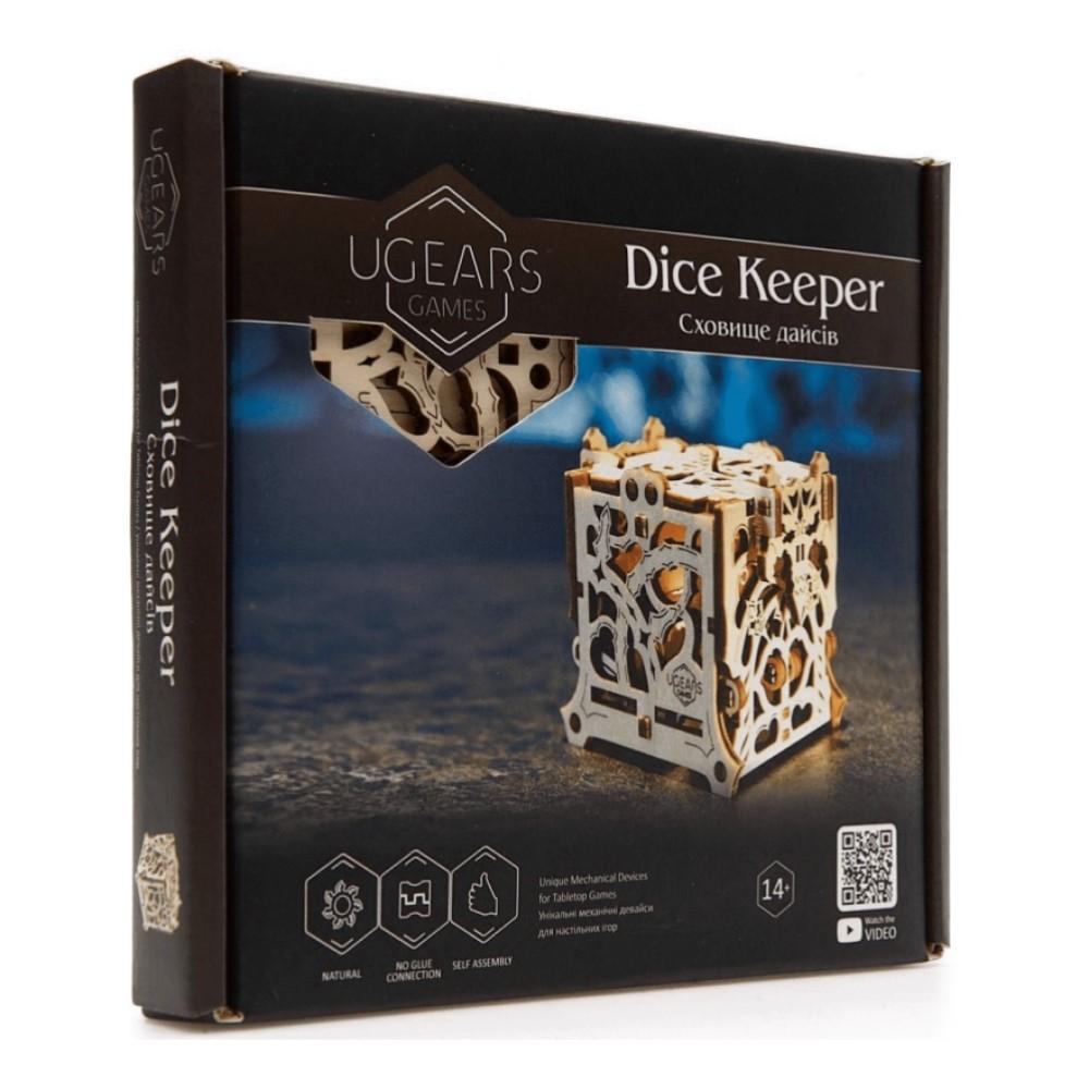 Конструктор 3D-пазл Ugears - Дайскипер