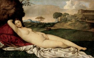Спящая Венера (Репродукция Джорджо Барбарелли да Кастельфранко)