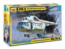 7254 Российский вертолёт МЧС МИ-8