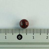 Бусина из яшмы брекчиевой шар 6 мм