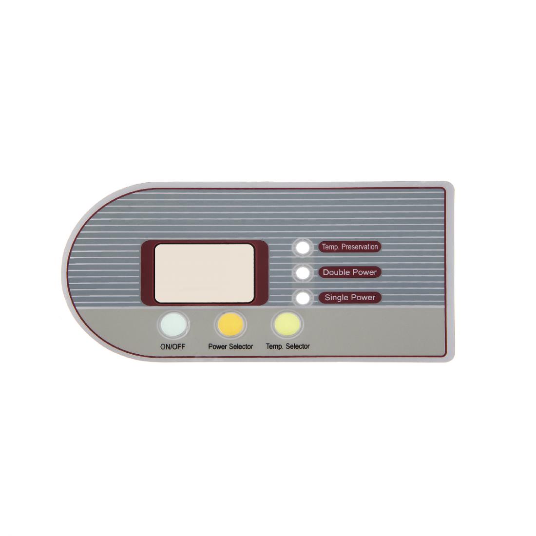 Стикер на панель управления FD (04)