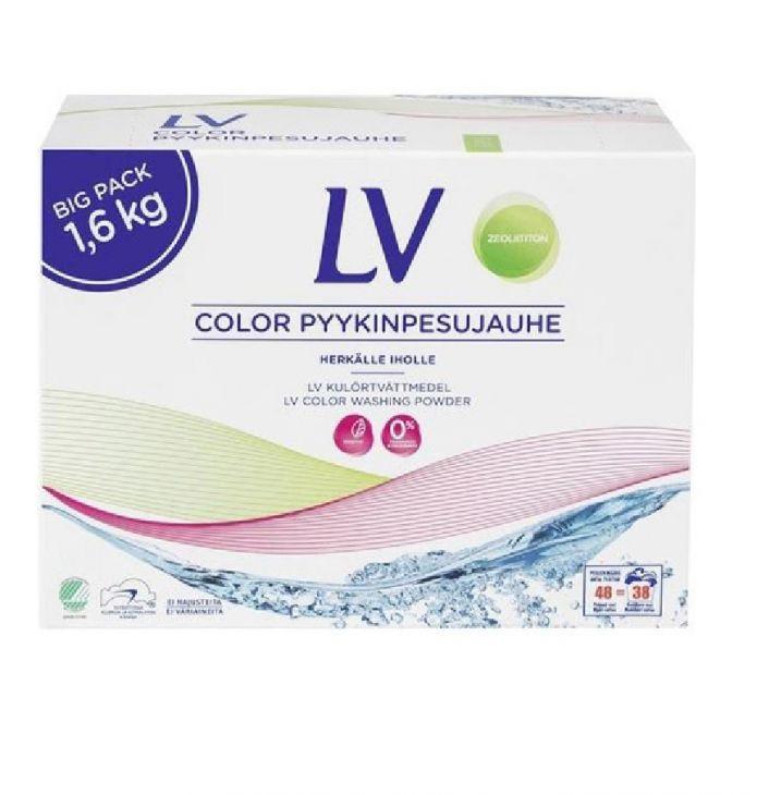 LV color стиральный микропорошок 1.6 кг