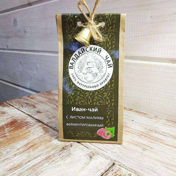 Иван-чай с листом малины ферментированный