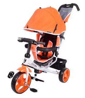 Велосипед 3кол. Comfort 10x8 EVA, оранж.