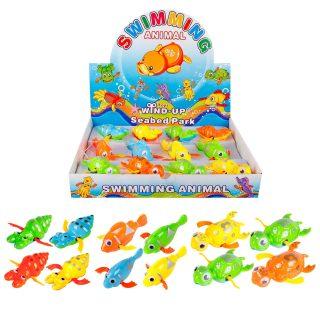 Игрушка для ванной Водоплавающие животные,  в ассорт., дисплей