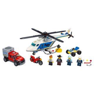 Констр-р LEGO Город Погоня на полицейском вертолёте