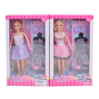 """Игр. набор """"Модница"""", в комплекте кукла 29 см, предметов 7 шт., кор."""