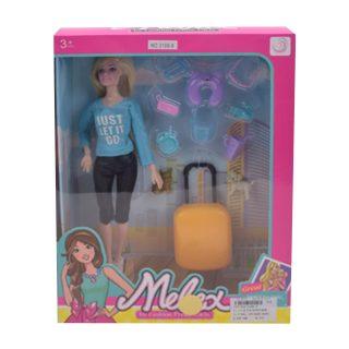 """Игр. набор """"Модница"""", в комплекте кукла 30 см, предметов 11 шт.,кор."""