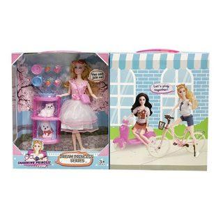 Игровой набор Любимый питомец, в комплекте кукла шарнирная, фигурка, предметов 9шт., коробка