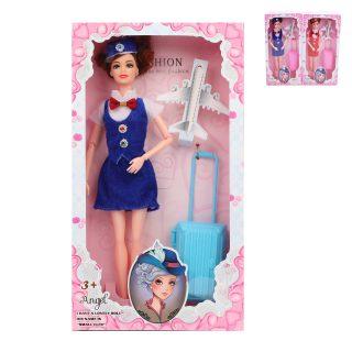 Кукла 29 см Стюардесса, 1 аксесс., в ассорт.,кор.