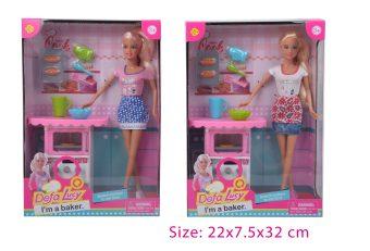 Игровой набор Defa Lucy Юный кулинар, в комплекте предметов 12 шт.