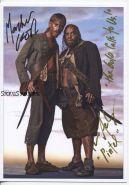 Автографы: Ли Аренберг, Макензи Крук. Пираты Карибского моря: Проклятие Черной жемчужины