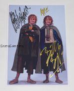 Автографы: Доминик Монахэн, Билли Бойд. Властелин колец: Братство кольца