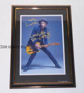 Автограф: Кит Ричардс. The Rolling Stones
