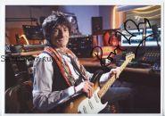 Автограф: Ронни Вуд. The Rolling Stones