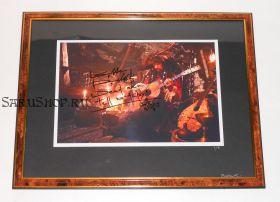 Автограф: Кит Ричардс. Пираты Карибского моря: На краю Света