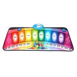 Развивающий игровой коврик:Танцевальная радуга, свет, звук, эл.пит. 2АА не вх.в комплект