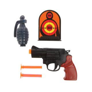 Игр.набор Полиция, в комплекте: предметов 5шт., пакет