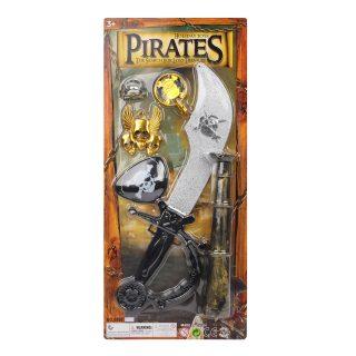 Игр.набор Пираты, в комплекте 7 предметов, блистер