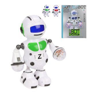 Робот эл., Танцор, свет, звук, в ассортименте, эл.пит.АА*3шт.не вх.в комплект