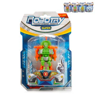 Трансформер-робот, 4 вида