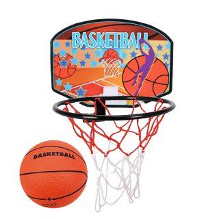 Набор для игры в баскетбол, щит 19*14 см, мяч, игла для насоса