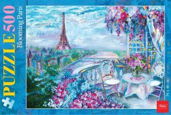 Пазлы 500 А2ф 340х460мм Цветущий Париж