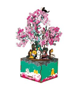 Деревянный конструктор «Цветущая сакура»