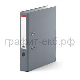 Файл А4 5см ErichKrause Бизнес серый 721/210