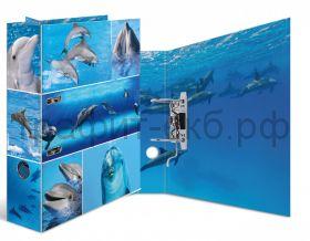 Файл А4 7см Herma Дельфины 7167