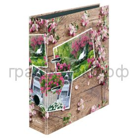 Файл А4 8см Blossoming in style Spring Photos Herlitz 50017171