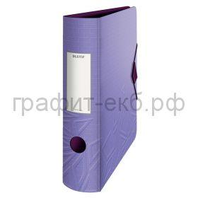 Файл А4 8см Leitz UrbanChic фиолетовый 11160065