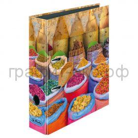 Файл А4 8см Orient Spice Market Herlitz 50013425