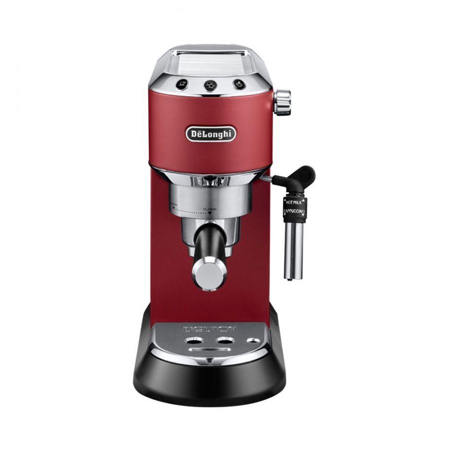 Кофеварка рожковая DeLonghi Dedica EC 685 красный