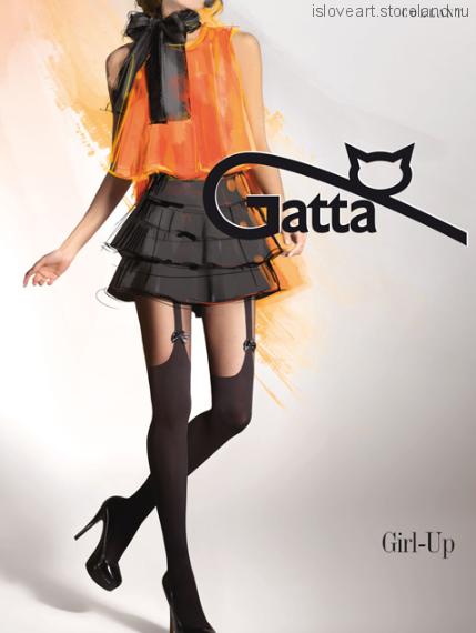 Колготки Gatta,nero 2/S