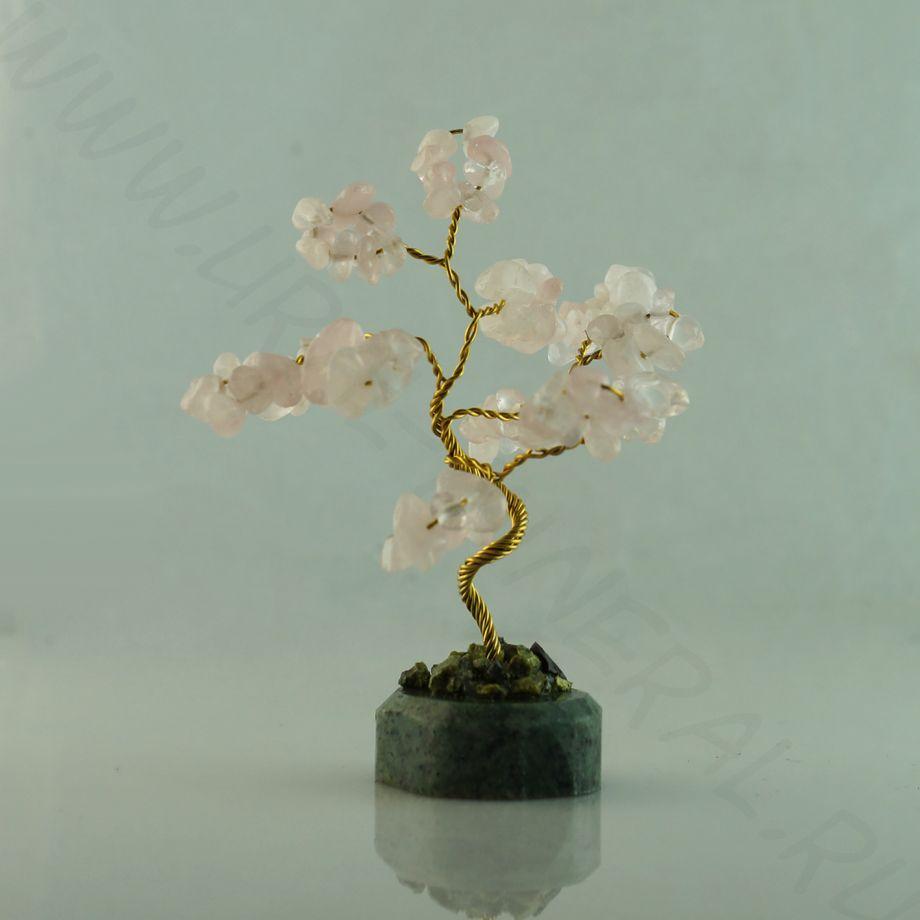 """Сувенир """"Каменное дерево"""" - Розовый кварц"""
