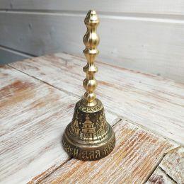 Валдайский колокольчик с ручкой №4 (гравировка)