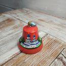 Валдайский колокольчик расписной №5 (красный)