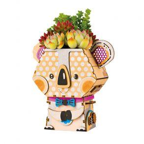 Деревянный конструктор «Цветочный горшок Коала»