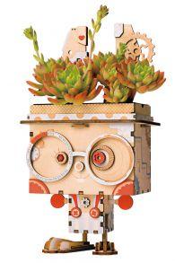 Деревянный конструктор «Цветочный горшок Кролик»