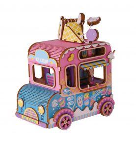 Деревянный конструктор «Фургончик с мороженым»
